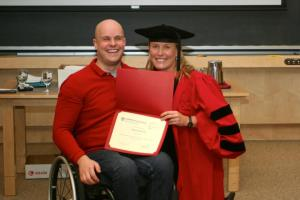 Mark Pollock & his Harvard Diploma